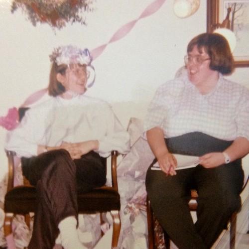 wedding shower, 1995
