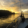 Wrapping up a beautiful day at Langara Island, Haida Gwaii