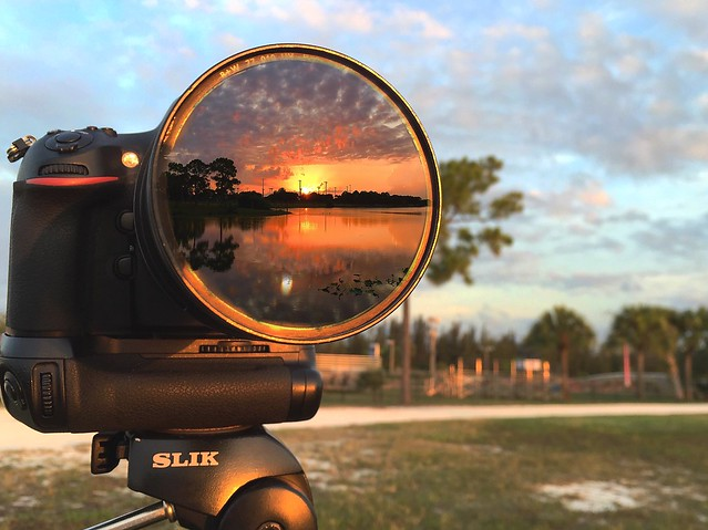 Sunrise in the Camera's Eye