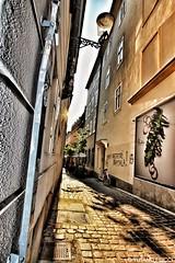 City Alley. Lubiana. Slovenia 2015.