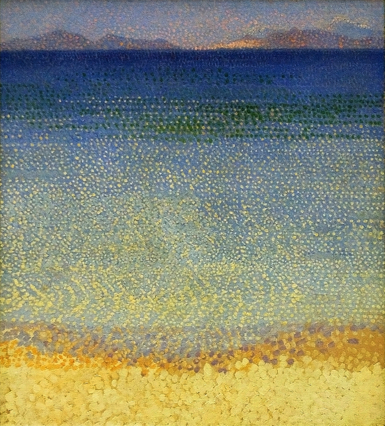 Les Iles d'Or (The Golden Isles) by Henri-Edmond Cross, circa 1891 - 1892