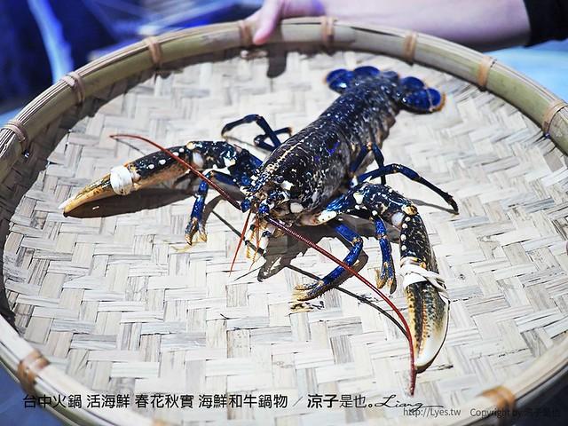 台中火鍋 活海鮮 春花秋實 海鮮和牛鍋物 28