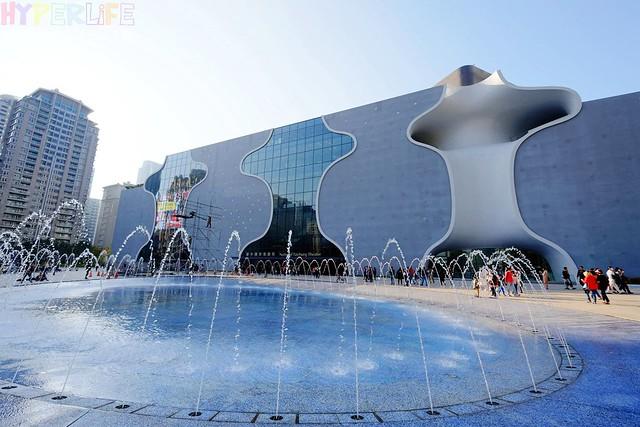 台中歌劇院聖誕燈光秀 (1)
