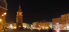 Królewskie-Miasto-Kraków w-nocy Night-Shot nocne-zdjęcie light night Kraków Krakau Polska Polen Poland