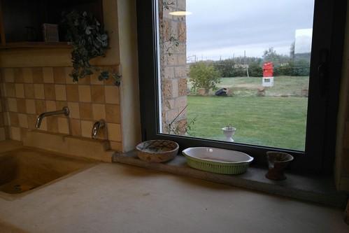 apartment Arneis cucina veduta giardino