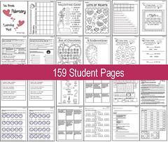 February Learning Pack - 1st Grade