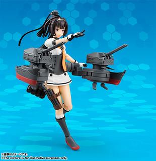 防空驅逐艦秋月,出擊! Armor Girls Project 《艦隊收藏》 秋月