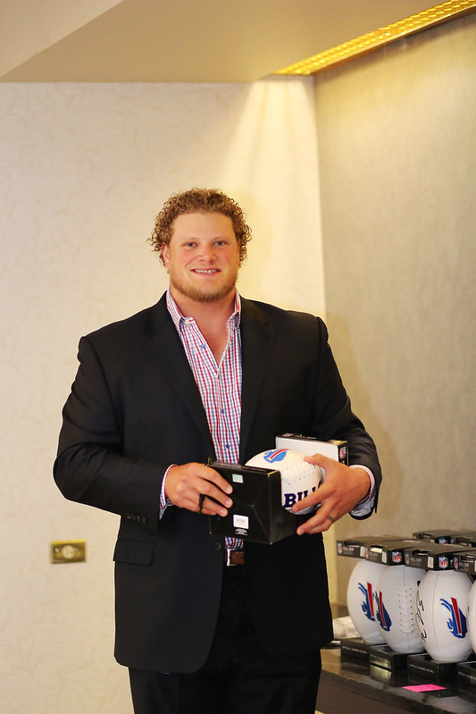 Eric Wood foundation event photography Buffalo Bills