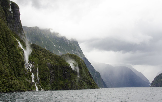 Milford Sound, New Zealand.
