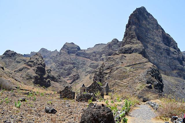 Abandoned Hamlet, Cruzinha to Ponta do Sol route, Santo Antao, Cape Verde