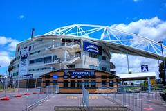 QBE Stadium entrance
