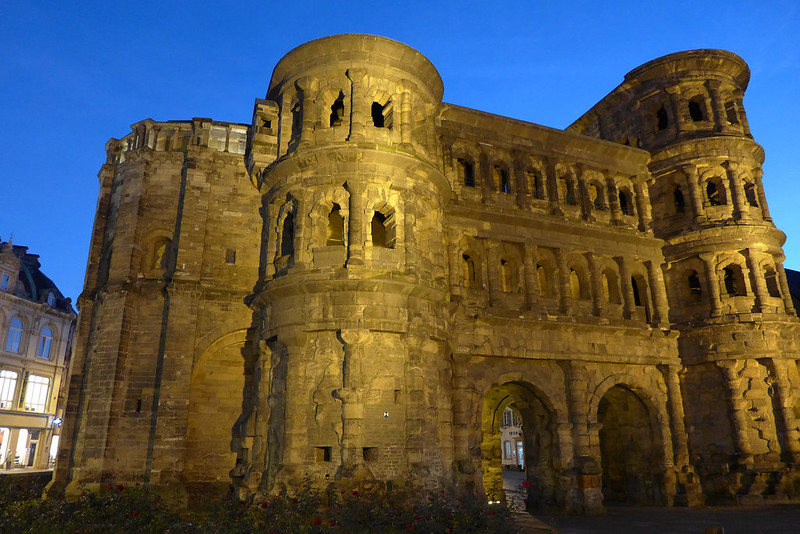 A la découverte de Trier (Allemagne) - 028 - Porta Nigra