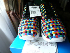 "adidas ZX FLUX ""rainbow weave"" SIZE 10 Limited Edition (S82749) Europe Exclusive"