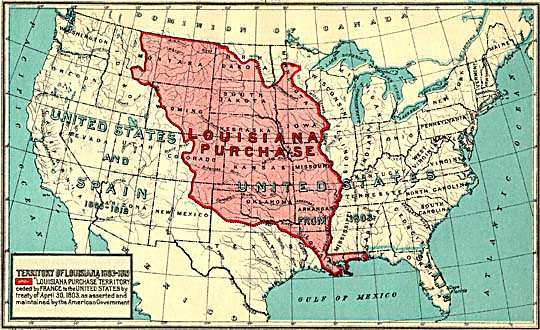 The Louisiana purchase printed by Government Printing Office
