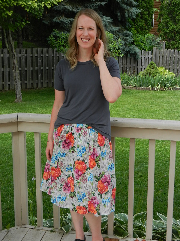 Bristol Skirt and Union St Tee 3