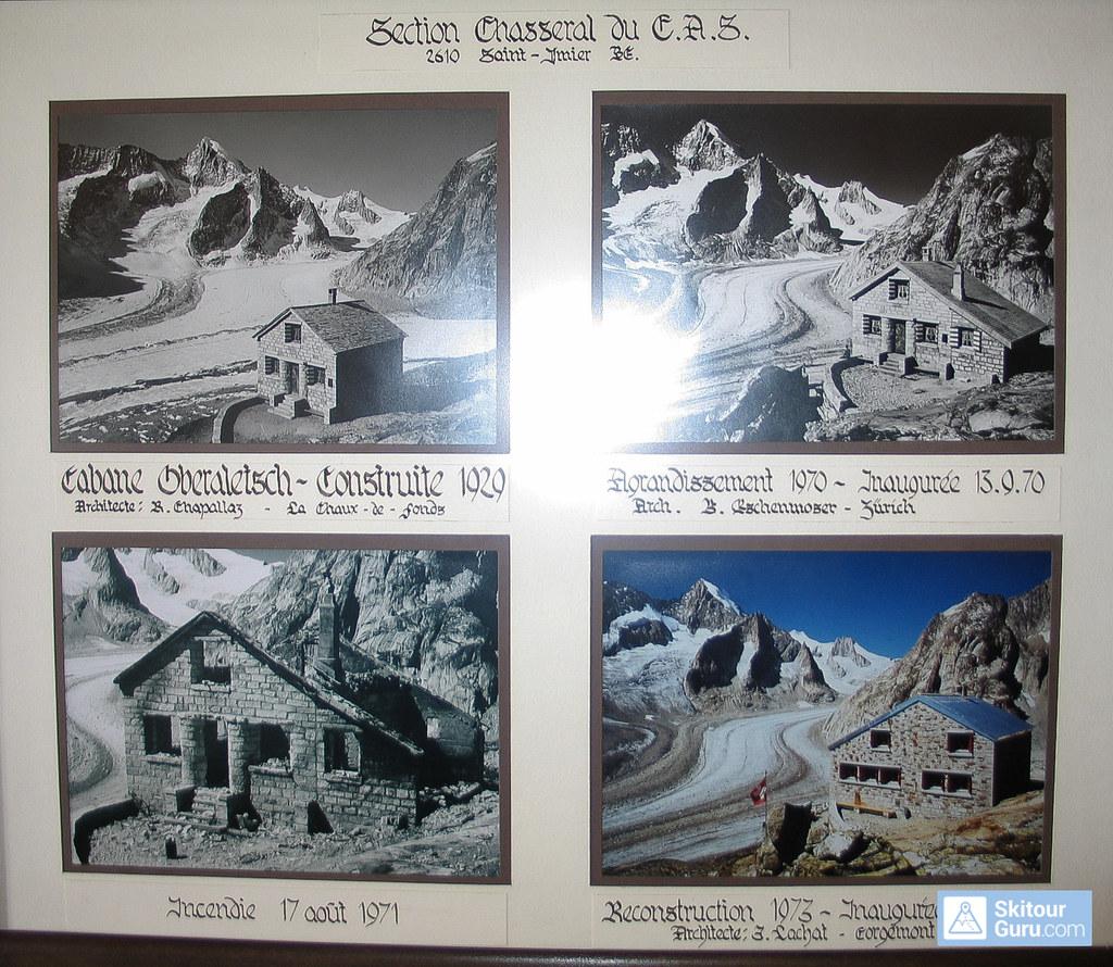 Oberaletschhütte Berner Alpen / Alpes bernoises Switzerland photo 07