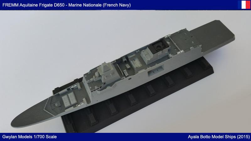 FREMM Aquitaine D650 Frégate ASM Gwylan Models 1/700 19727984585_b52a0e6bd7_o