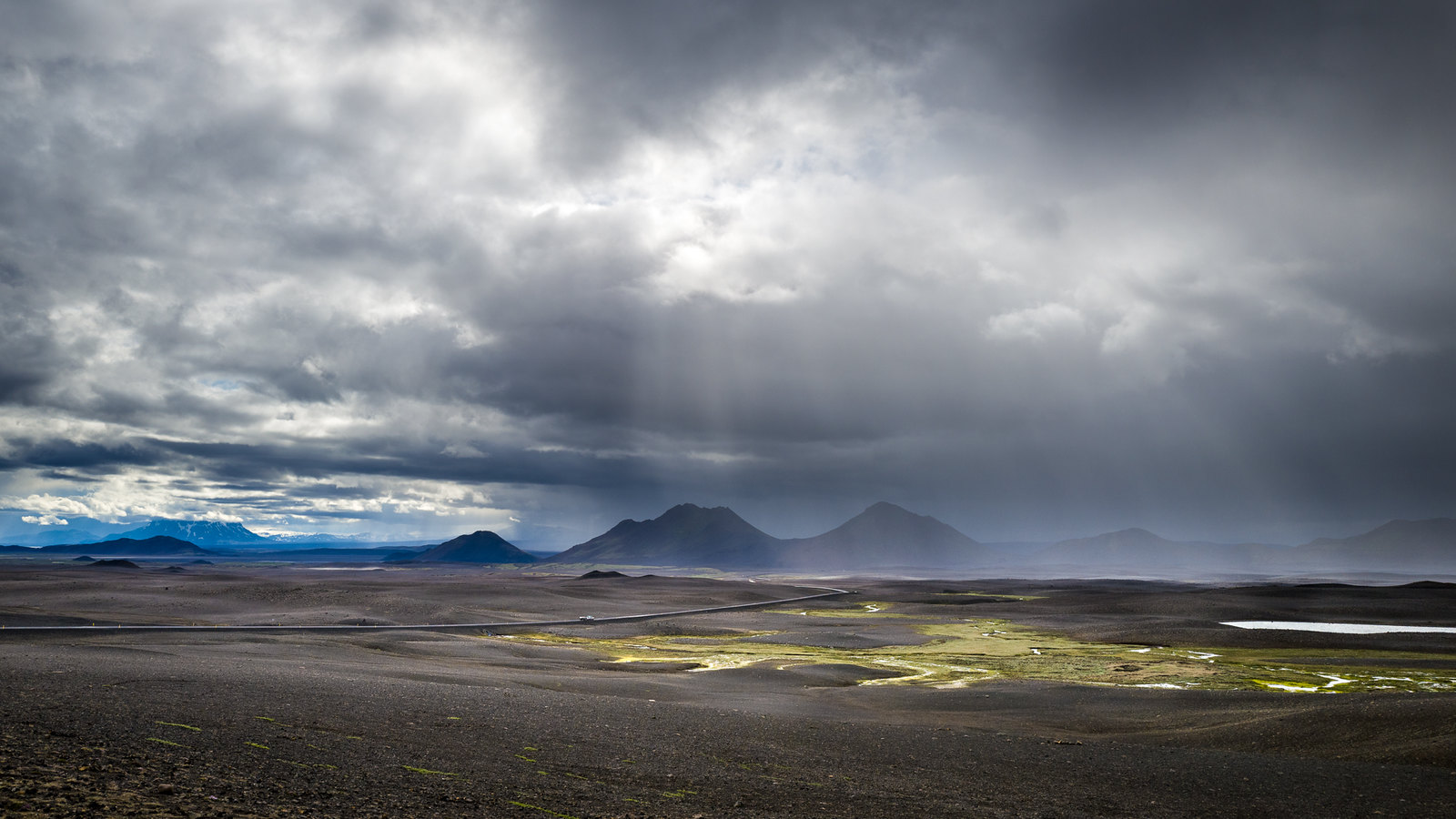 Barren land of Northeast Iceland