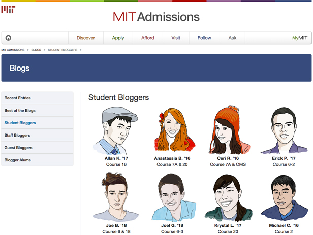 MIT Student Bloggers