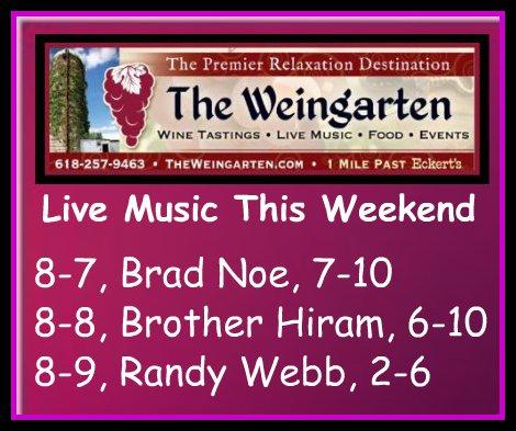 The Weingarten 8-7 thru 8-9-15