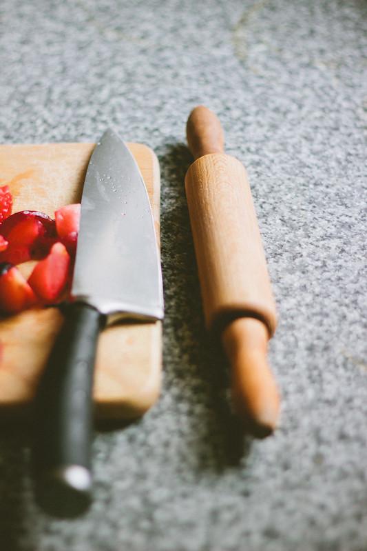 {stone fruit galette} via chevrons & éclairs