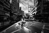 Bike crossing.