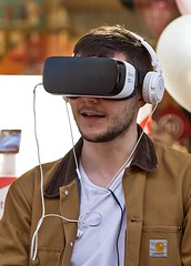 Smile, it's mobile virtual reality