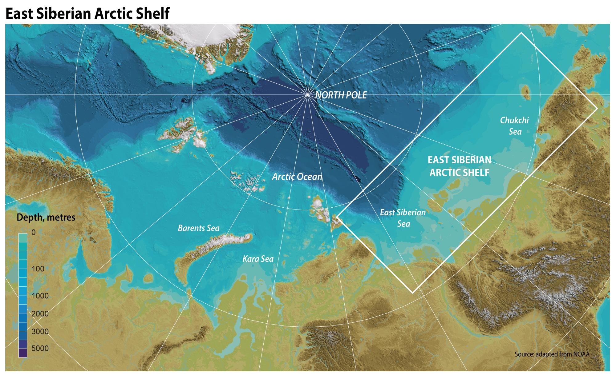 East Siberian Sea: Description, Resources and Problems 55