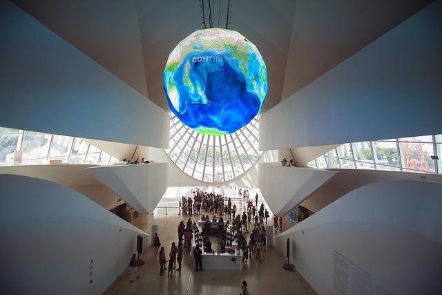 Museum of tomorrow in Mauá Square, Rio de Janeiro - Santiago Calatrava.