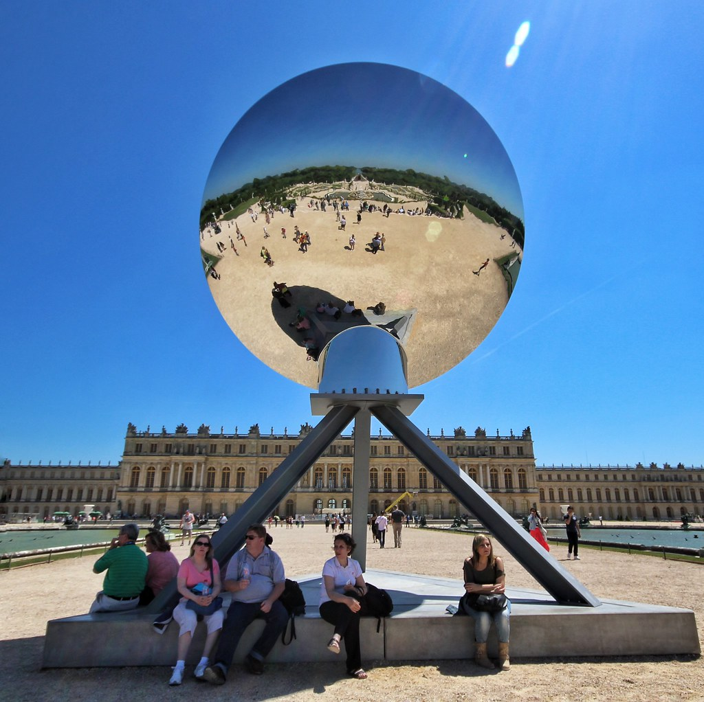 Anish kapoor exposition at the palace of versailles for Exposition jardin versailles 2015