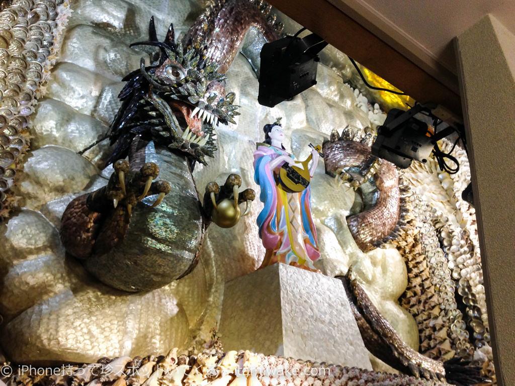 ドラゴンと弁財天
