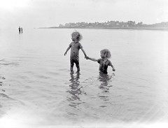 George and Mary Mahon at Salthill County Galway