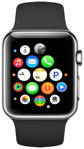 Deliveries on Apple Watch