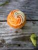 Dreamsicle Cupcake