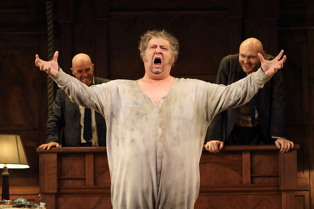Ambrogio Maestri as Falstaff in Falstaff ©2015 ROH. Photograph by Catherine Ashmore