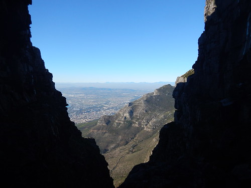 In the Platteklip Gorge, Table Mountain