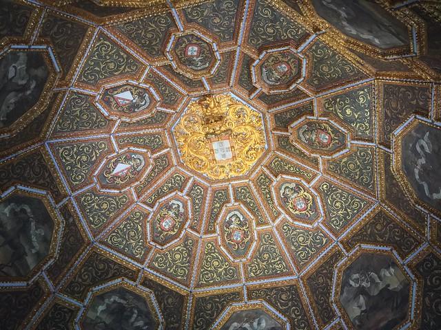 Sala de los blasones (Palacio Nacional de Sintra, Portugal)