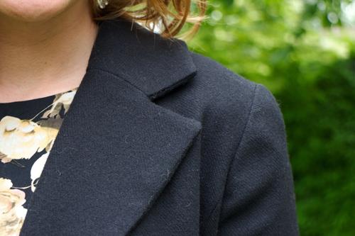 Meg jacket lapel