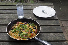 Simple summer risotto
