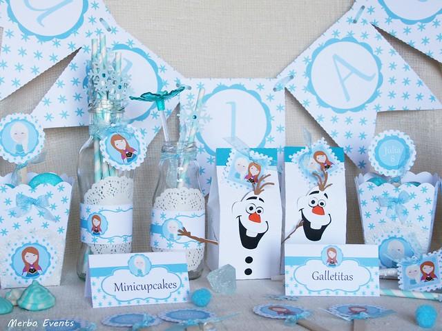 Kit fiesta Frozen imprimible