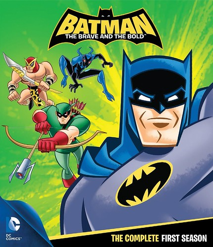 Batman The Brave And The Bold (2008-2011, 65odc) cover