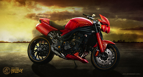 Triumph Hellboy