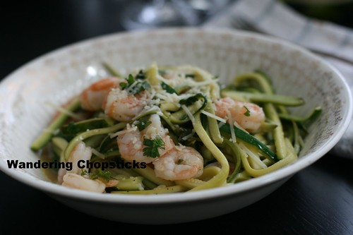 Shrimp Scampi Low Carb Zucchini Noodles 11