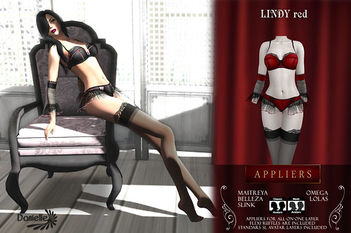 DANIELLE Lindy Red Appliers And Classic