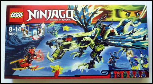 review ninjago 70736 lattaque du dragon moro - Ninjago Nouvelle Saison