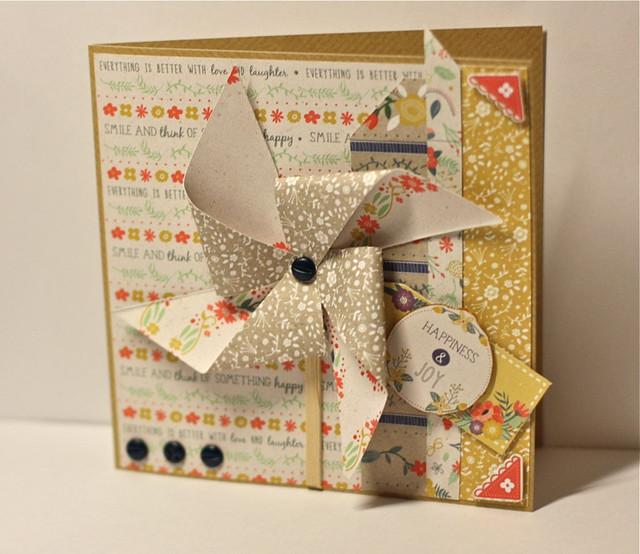 Pinwheel card by StickerKitten