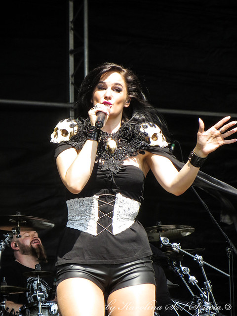 Xandria @ Masters Of Rock 2015, Vizovice, Czech Republic 09.07.2015