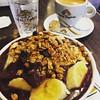 Açaí com café #cafe #agua #acai #cafedamanha #saopaulo #padaria