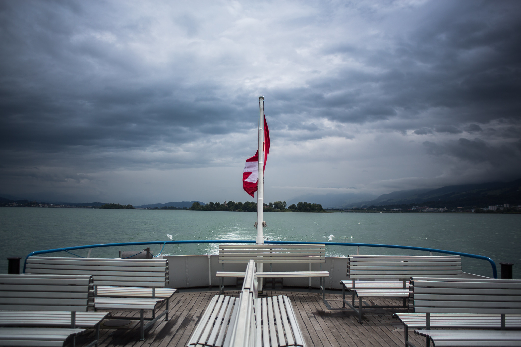 The Ferry from Rapperswil to Zürich