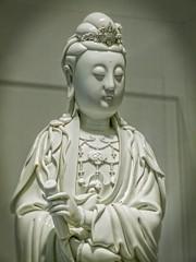 Guanyin Dehua ware Porcelain China Qing Dynasty 1644-1912 CE